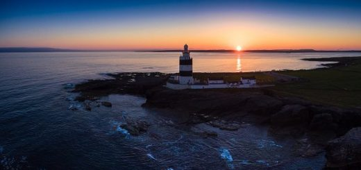 Sunset Over Hook Head, Co. Wexford