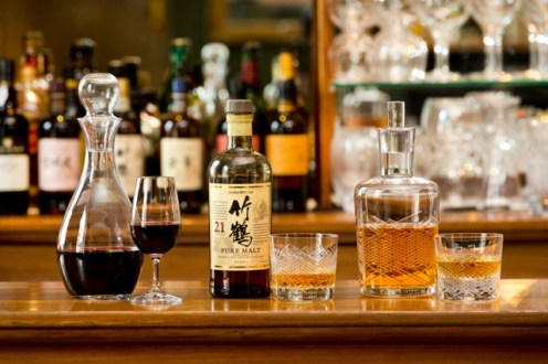 Japanese Whiskey, Scotch and Port