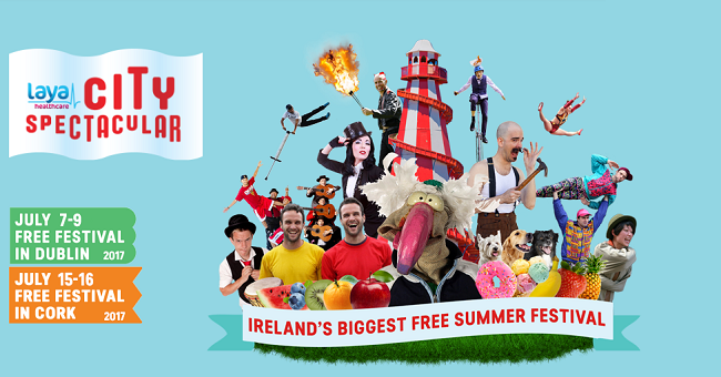 Laya Healthcare's City Spectacular Comes Back to Dublin and Cork this July