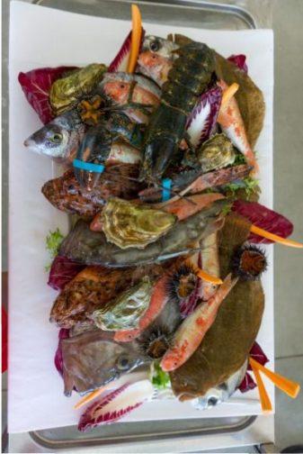 Margerita de Savoia Seafood at Bagni Haiti