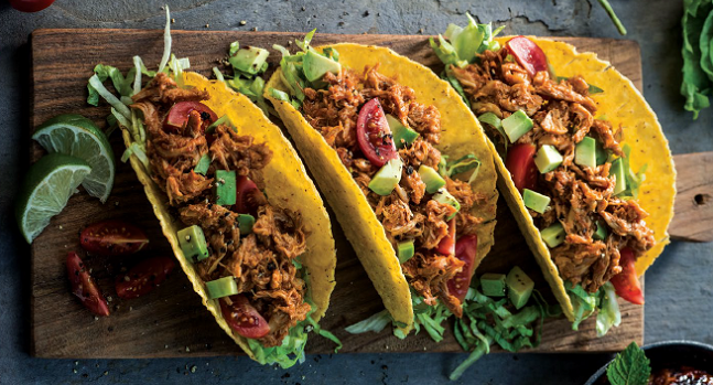Watch: Pulled Corn Fed Chicken Tacos Recipe by Neven Maguire for Simply Better