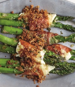 Asparagus Cigarillos Recipe from The Modern Dairy Cookbook
