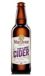 MacIvor's Medium Cider with Plum & Ginger