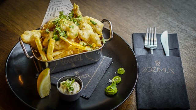 Enjoy a Exclusive Experience 3 Course Meal for Two People and a Glass of Wine Each at Zozimus for only (1)