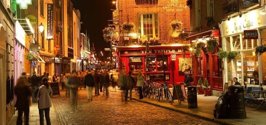 Temple Bar to Get Makeover
