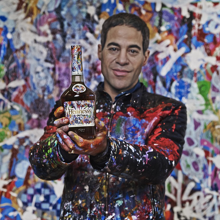 This Limited Edition Bottle of Hennessy is Literally a Work of Art by JonOne