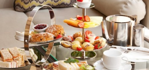 Herbet Park Hotel Sparking Afternoon Tea