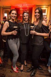 Pictured in Arthur's Bar celebrating 40 years of the Guinness Cork Jazz Festival is Jennifer Gleeson, Ruth Gleeson and Chloe McEvoy. Photo by Ruth Medjber