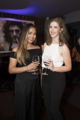 Pictured are Samantha Tabaldo and Saoirse Claffey at a special event celebrating 5 years at Marco Pierre White Courtyard Bar & Grill in Donnybrook. Picture Conor McCabe Photography.