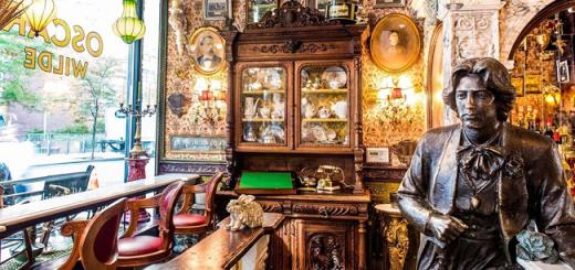 The Importance of Being Posh: Irish Duo Opened Stunning Oscar Wilde Themed Bar in New York