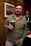 Pictured in Arthur's Bar celebrating 40 years of the Guinness Cork Jazz Festival is Thomas Crosse. Photo by Ruth Medjber