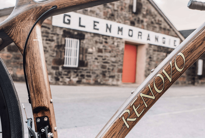 Cycle Against the Grain with this Beautiful Bike Made from Whiskey Barrels