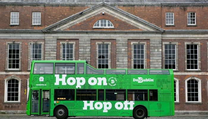 DoDublin Hop On Hop Off Tour Bus
