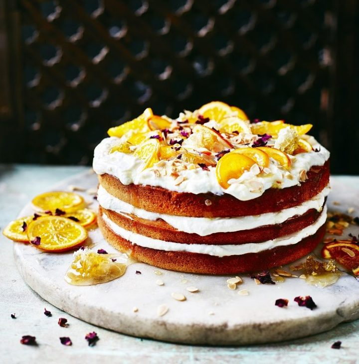 Orange_&_Honey_cake recipe