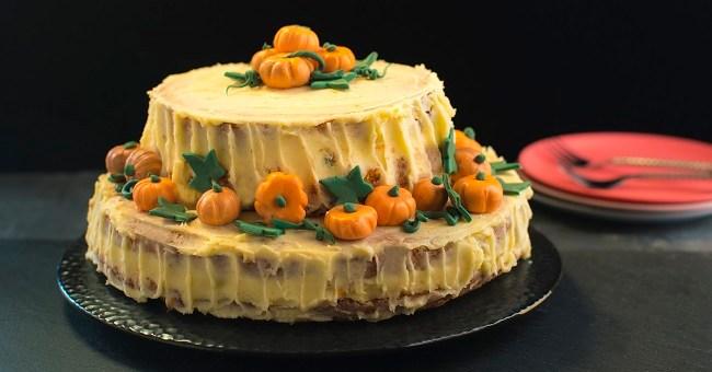 Siúcra & Catherine Fulvio Pumpkin Patch Cake Recipe