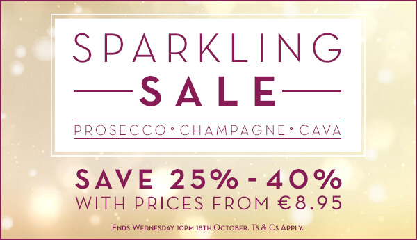 """Pop"" By O'Briens Wines and Enjoy their Sparkling Wine Sale with Bottles Starting at €7.46"