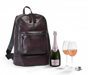 Krug and Luxury Designer Teamed Up to Launch Glamorous €5,500 Champagne Backpack