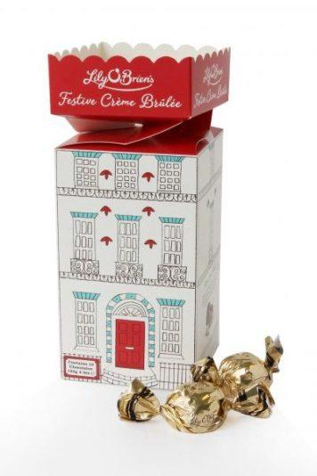 Festive Creme brulee tower €5.00