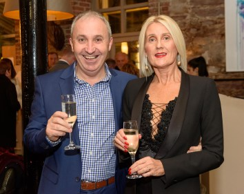 Pictured at the Rhône Valley Wine Week Dinner in Greenes Restaurant, Cork, in association with Château Pesquié and Tindal Wine Merchants , were Denis and Bernice Cambridge from Cloghroe. Picture. John Allen