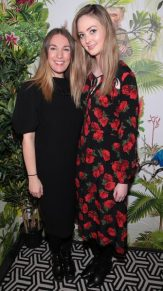 Claire Buckley and Aoife McCormack pictured at The Monkey Haus hosted by Alexander Stein Founder of Monkey 47 at The Wilde Merrion Square, Dublin.Pic Brian McEvoy