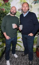 Rory Carrick and Henry Wolverson pictured at The Monkey Haus hosted by Alexander Stein Founder of Monkey 47 at The Wilde Merrion Square, Dublin. Pic Brian McEvoy