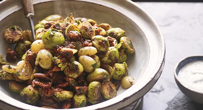 Sticky Fried Lebanese Sprouts Recipe