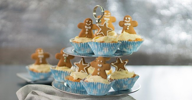 Gingerbread Cupcakes Recipe by Siúcra & Catherine Fulvio
