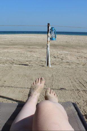 dune bashing inland sea