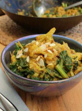 Cauliflower curry Wonky spatula