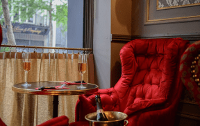 cafe rubis | This New Vintage Wine Bar in City Centre is the Perfect Setting for a Date