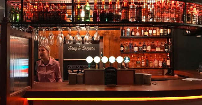 kelly and coopers Now is Blackrock's turn to welcome a new place, as the leafy suburb has seen the opening of Kelly & Coopers, a new pub and kitchen in the heart of the area