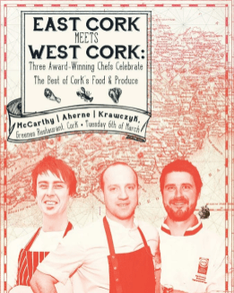 Top Chefs to Meet in Greenes Restaurant for a Celebration of the Flavours pf Cork