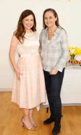 Catherine Fulvio and Debbie O'Donnell at Siúcra's Easter event