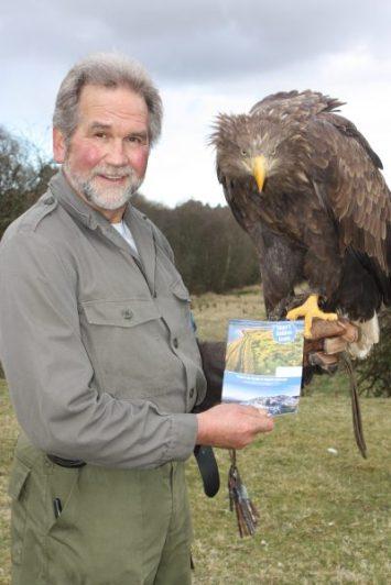 Lothar Muschketat and Linda the eagle SLIGO