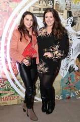 Niamh Devereux and Elaine Crowley pictured at the launch of BACARDÍ Cuatro and Ocho, which were officially introduced in true prohibition style last night at an exclusive speakeasy event off Camden Street. Pic: Marc O'Sullivan