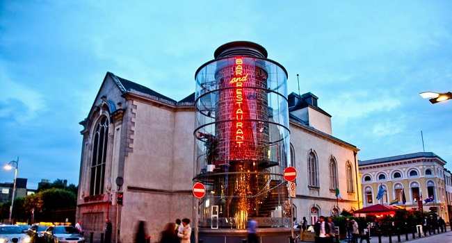 Experience the Gallery Restaurant at The Church - 2 Course Dinner, with a  Bottle of House Wine OR 2 House Cocktails only €50