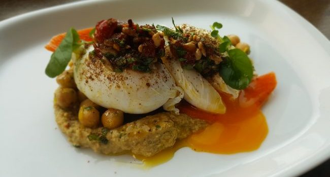 Poached Eggs Recipe by Chef Chad Byrne at The Brehon
