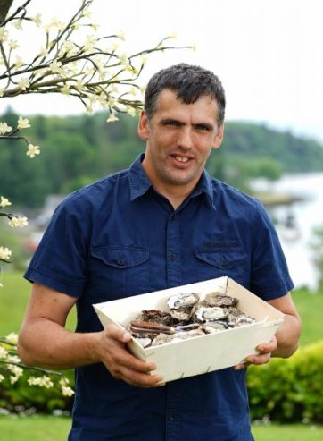 John Ward of Dooncastle Oysters