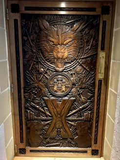 Ballygally Castle Game of Thrones Door