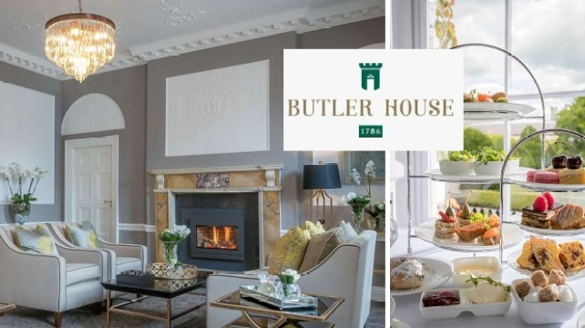 Win a Luxurious Afternoon Tea for Two at Butler House in Kilkenny