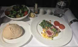 Emirates Business Class Tuna