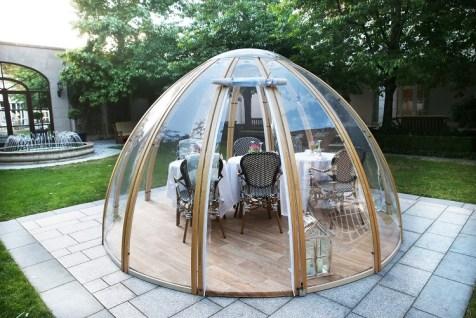InterContinental Dublin Garden Pods 2