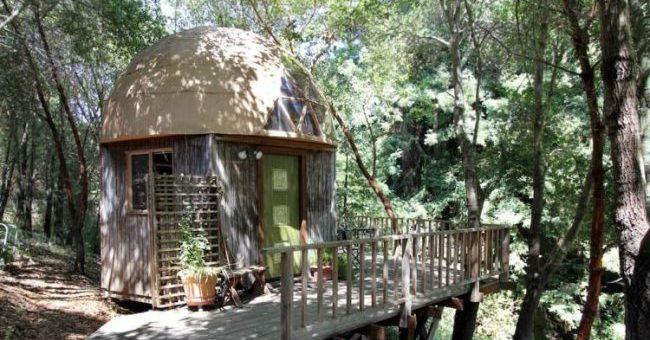 Mushroom Dome Cabin