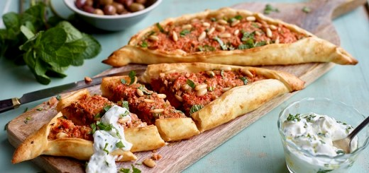 Lamb pides recipe