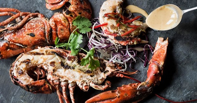 Saba Whole Lobster