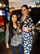 Huawei Afternoon Tea event. Pictured is Dee Alfaro & Mei Ling Tong Photo Chris Bellew /Fennell Photography Copyright 2018