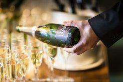 Sheen Falls Lodge champagne