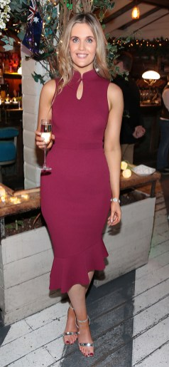Megan Virgo pictured at the Emirates Christmas Down Under party at House in Leeson Street,Dublin. Pic Brian McEvoy No Repro fee for one use