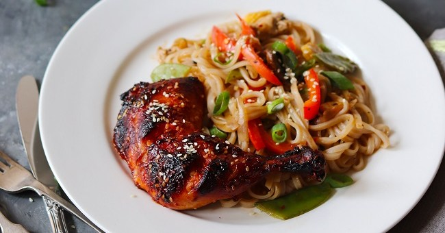 Sriracha & Honey Grilled Chicken Recipe