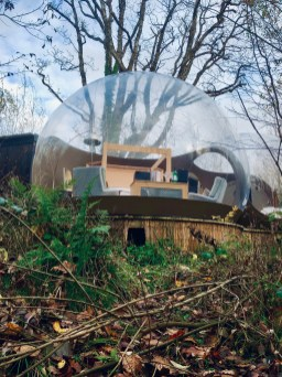 Finn Lough Bubble Dome Review in Lough Erne Northern Ireland
